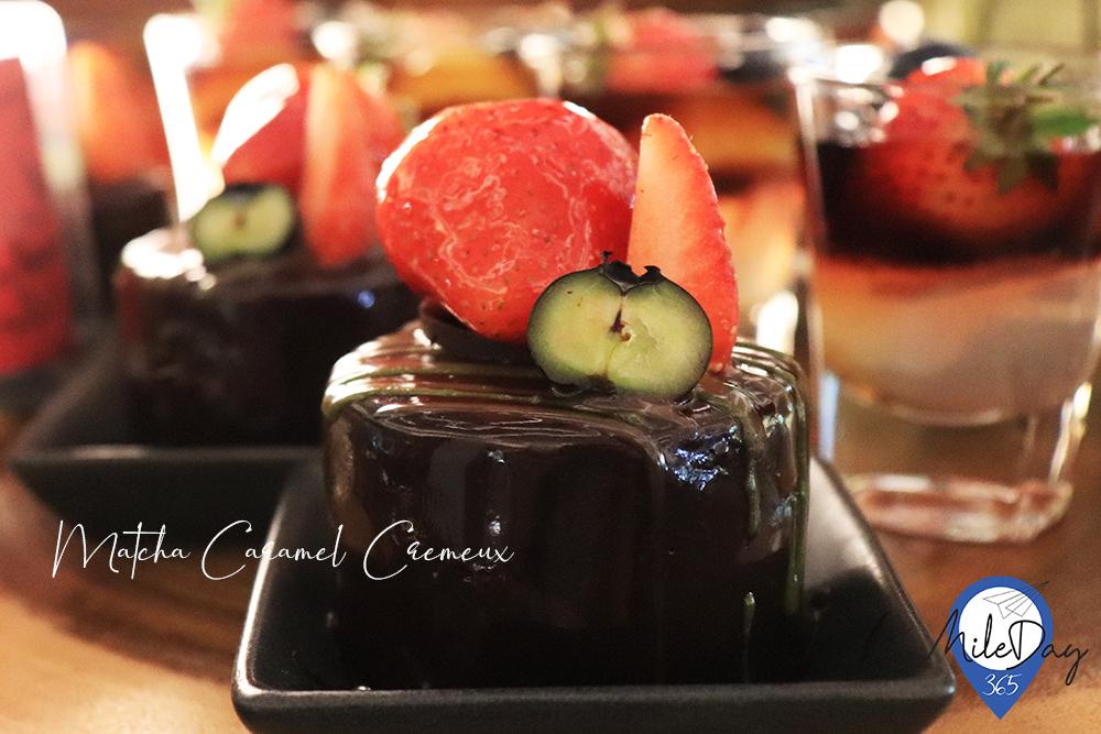 Matcha Caramel Cremeux