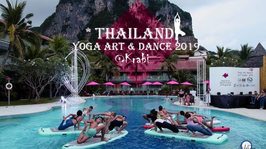 Mileday365 Thailand Yoga Art & Dance 2019