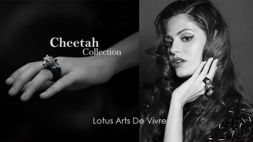 Cheetah Collection Lotus Arts De Vivre