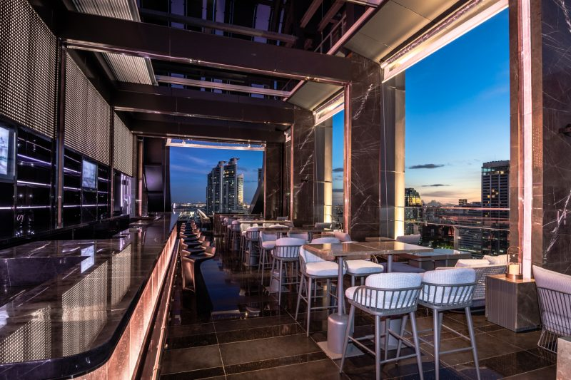 Cooling Tower Rooftop Bar